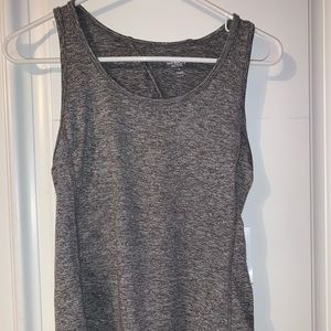 old navy gray workout tank
